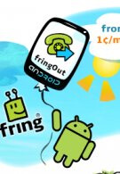 Fring for Android now offers low-rate phone calls to any phone number