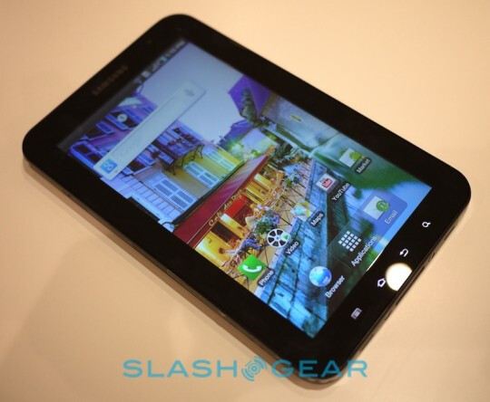 Samsung Galaxy Tab to feature gorilla glass