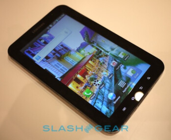 Samsung Galaxy Tab to feature gorilla glass