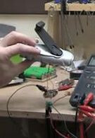 Ben Heck demonstrates hand-crank phone charger