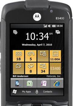 Motorola ES400 heading to AT&T