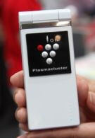 Plasmacluster device emits negative ions
