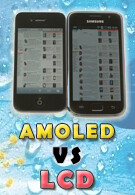Smartphone Displays - AMOLED vs LCD