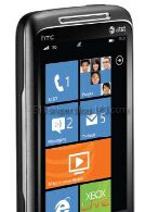 HTC Mondrian pictured with an AT&T Hub on the homescreen