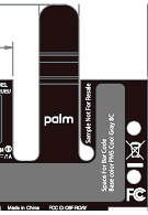 New Palm slider invades the FCC with 1GHz processor