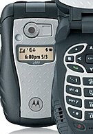 Nextel phone proves its ruggedness as it stops a bullet in its track
