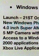 Windows Phone 7 is coming to Europe as soon as October 21st with 2,000 apps ready?