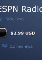 ESPN Radio app gives BlackBerry users 24/7 sports radio