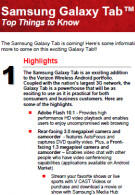 Leaked Verizon fact sheet reveals answers to your Samsung Galaxy Tab questions