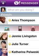 Yahoo Messenger now available for the Apple iPhone, brings 3G video chat