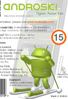 Android action figures available from SK Telecom
