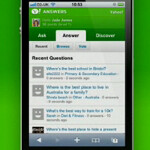 Yahoo! launches its Answers application for WebKit browsers