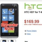 Wirefly opens up pre-orders for the HTC HD7 & priced at $169.99 with a contract