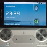 Sony Ericsson PlayStation phone is pictured and is real