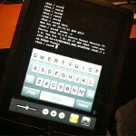 Apple iPad running iOS 4.2 already jailbroken