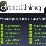 Droidthing database aims to shout