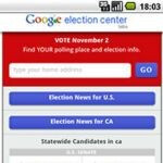 Google Election Center encourages you to vote