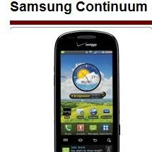 Verizon to launch the Motorola CITRUS, Samsung Continuum and Zeal on Nov 11