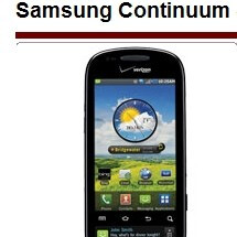 Verizon to launch the Motorola CITRUS, Samsung Continuum and Zeal on Nov 11