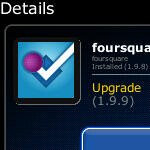 Foursquare app for BlackBerry is updated to version 1.9.9