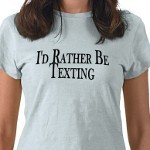 Latest study shows that teens spend their nights... texting