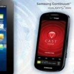 Samsung Continuum is being featured on Verizon's web site alongside the Galaxy Tab