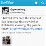 Twitter for Android also takes part in Update Wednesday, app is more polished and is faster