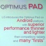 LG Optimus Pad gets NVIDIA Tegra 2 & Android Honeycomb