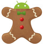 You can get your first taste of Gingerbread through Google Maps version 4.6
