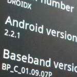 Motorola DROID X is potentially getting an update to bring it to Android 2.2.1?