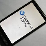 HTC HD2 tries out Windows Phone 7