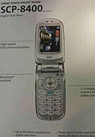 Sprint and Sanyo to launch new clamshell phone with Bluetooth support