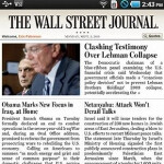 Samsung Galaxy Tab to be first Android device to feature WSJ app