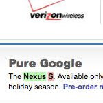 Nexus S for T-Mobile briefly appeared on Best Buy's web site