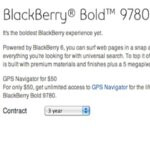 Bell customers can now get a crack at the available BlackBerry Bold 9780