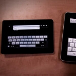 First look at the BlackBerry PlayBook browser against the iPad