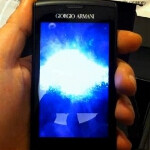 Video shows unboxing of the Giorgio Armani version of the Samsung Galaxy S