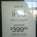 Apple iPad on a budget - $400 at T.J. Maxx and Marshalls