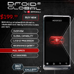 Verizon introduces Motorola DROID 2 Global for $199.99 after rebate and signed pact