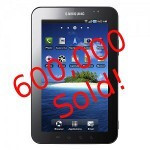 Samsung Galaxy Tab sales top 600,000, to hit 1 million by end-2010
