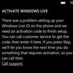 Windows Phone 7 has a Genuine Software Checker, impeding custom ROMs