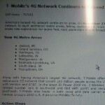 T-Mobile rolls out its HSPA+ network for eight more metro areas on November 23