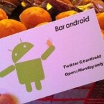 Bar Android in Tokyo serves up drinks to owners of all platforms