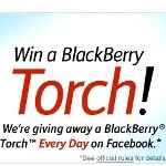 Enter RIM and AT&T contest to win two BlackBerry Torch 9800s every day until December 24th
