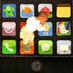 Toddler gets an iPhone quilt,