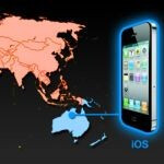 Which continent is in love with the iPhone?