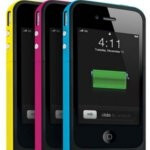 Mophie's Juice Pack Air Plus for the iPhone 4 ups the ante with a 2,000 mAh battery