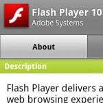 Bugfixes in tow with Flash Player 10.1.105.7 in the Android Market