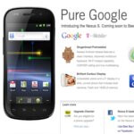Information regarding the Google Nexus S is now for real on Best Buy's web site