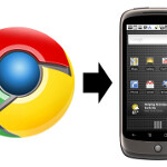 Updated Google Chrome to Phone app  now gives you your links history
